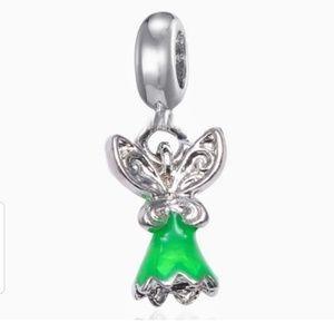 💜 2/$10 tinkerbell Charm for pandora Bracelet